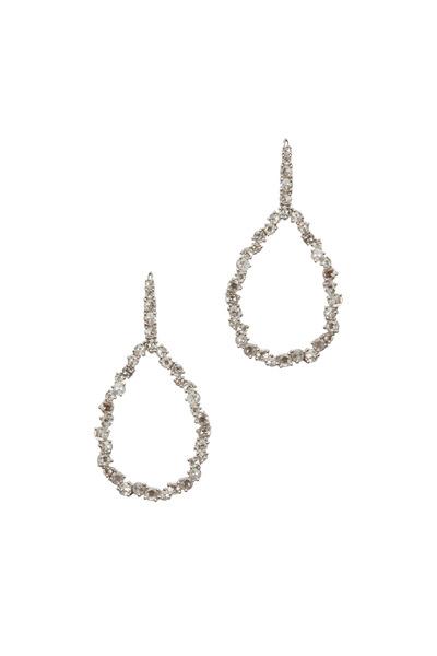 Kathleen Dughi - Romanzo White Gold Diamond Earrings