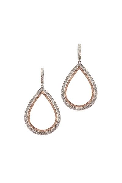 Kathleen Dughi - Francesca White Gold Diamond Earrings