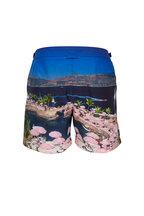 Orlebar Brown - Bulldog Photographic Lagoon Lazine Swim Trunks