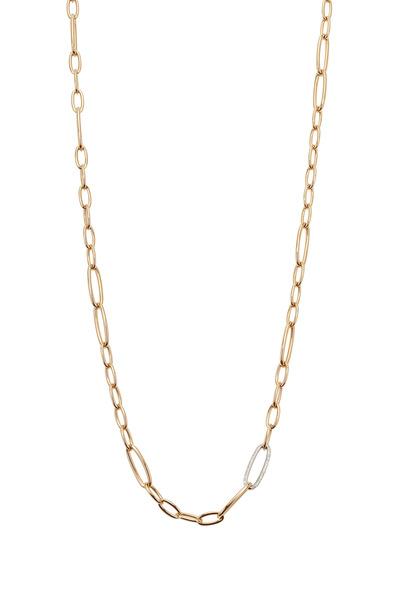 Kathleen Dughi - Yellow Gold Diamond Chain Necklace