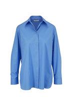The Row - Big Sisea Blue Button Down Shirt