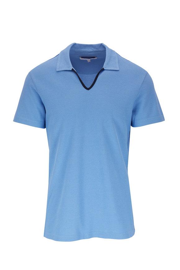 Orlebar Brown Marden Sea Breeze Knit Shirt