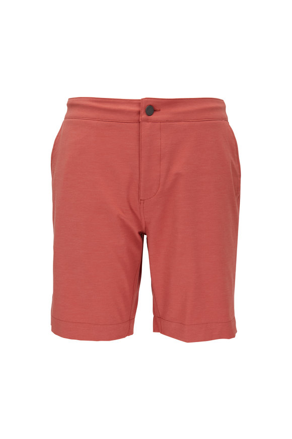 Faherty Brand All Day Venice Red Shorts