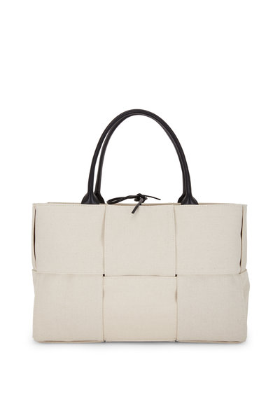 Bottega Veneta - Arco Natural Woven Nappa Leather Tote