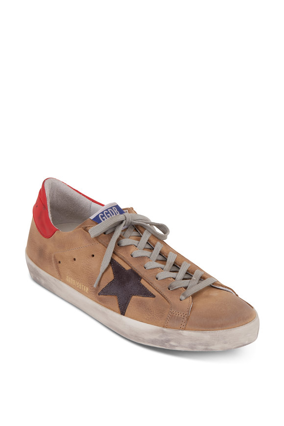 Golden Goose Superstar Incense Leather & Gray Star Sneaker