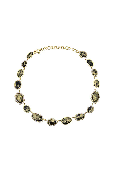 Kimberly McDonald - Apache Gold Irregular Diamond Necklace