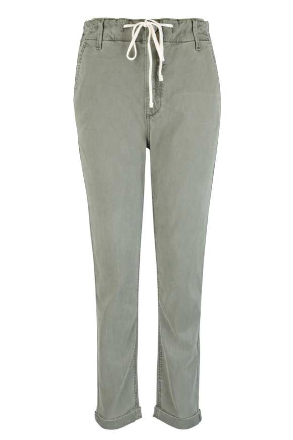 PAIGE Christy Coastal Green Jogger Pant