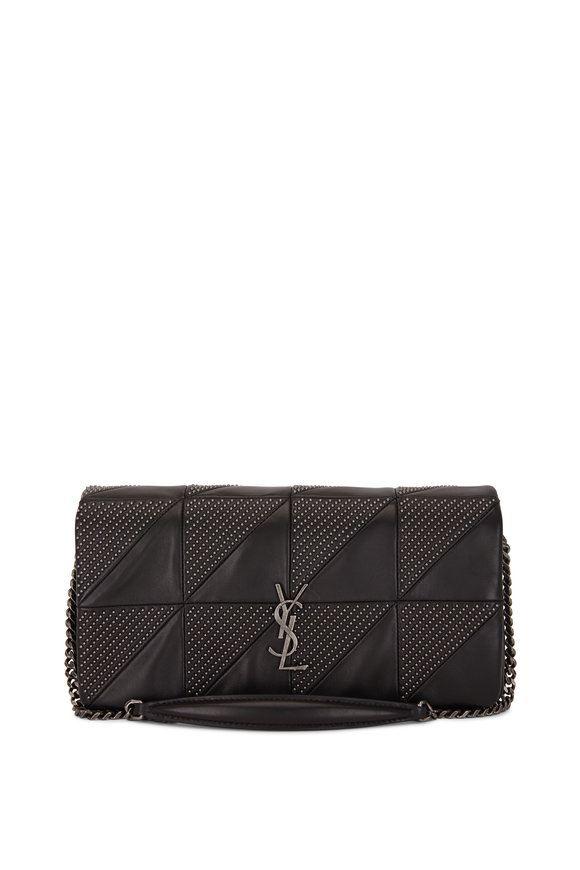 Saint Laurent Jamie 99 Monogram Black Nappa Micro Stud Bag