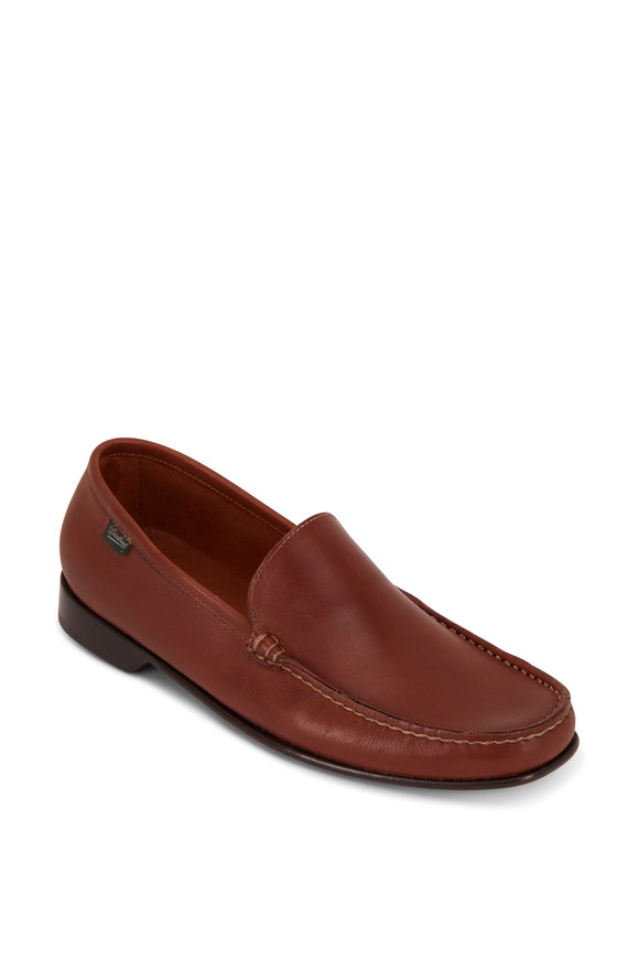 Paraboot Argeles Brandy Leather Loafer