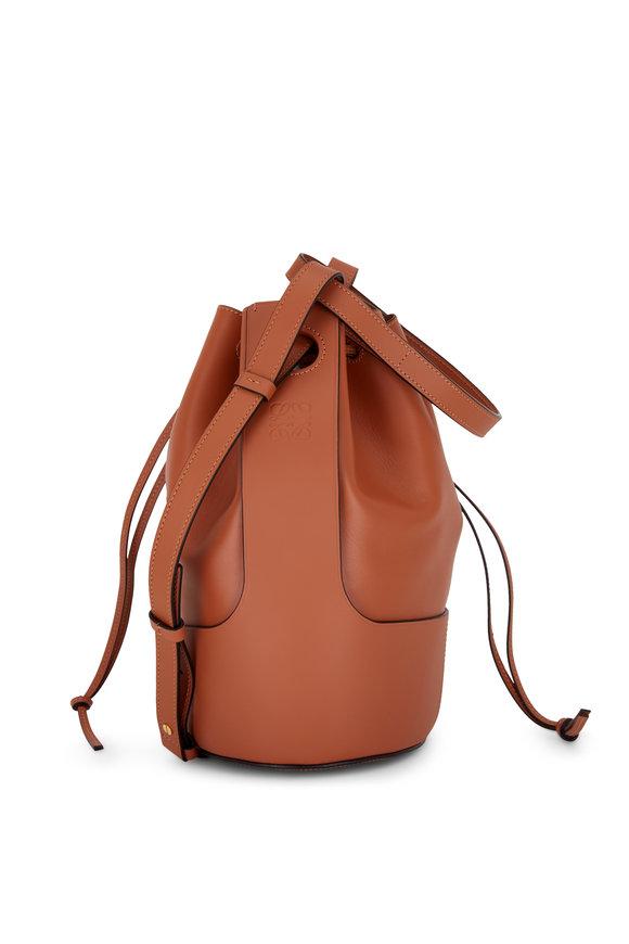 Loewe Small Balloon Tan Smooth Leather Bag