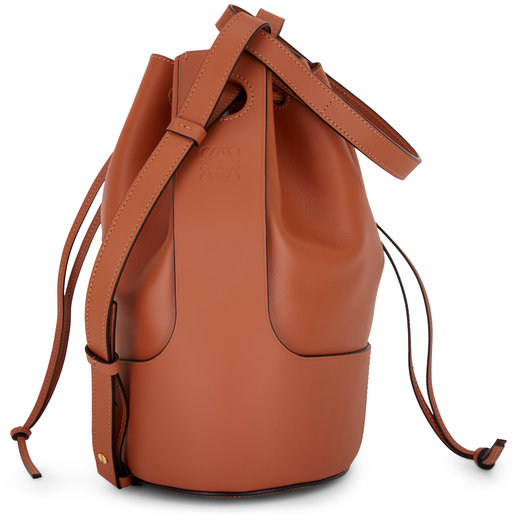 Loewe Small Balloon Tan Smooth Leather Bag