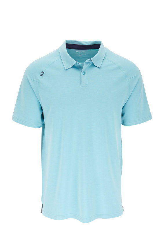 Rhone Apparel Delta Aqua Performance Polo