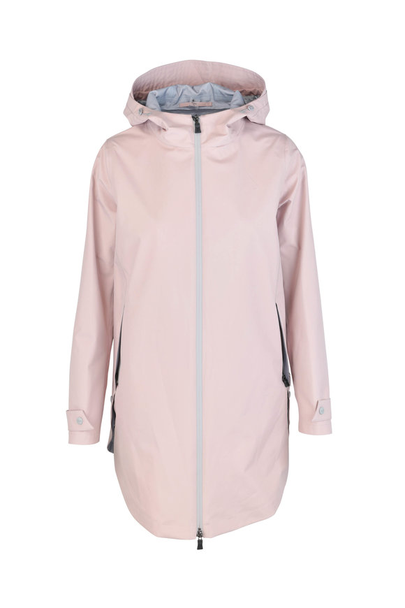 Herno Donna Soft Pink Weather Proof Jacket