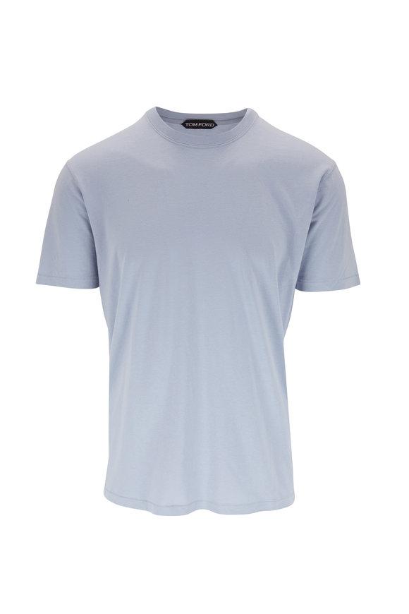 Tom Ford Light Blue Jersey T-Shirt