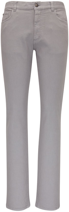 Canali Gray Five Pocket  Regular Fit Pant