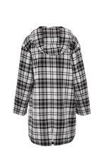 Bogner - Zina Black & White Plaid Oversize Jacket