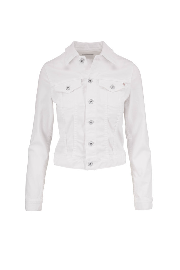 AG - Adriano Goldschmied Robyn True White Denim Jacket