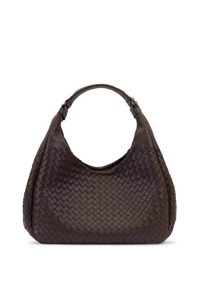 Campana Brown Intrecciato Nappa Small Hobo Bag