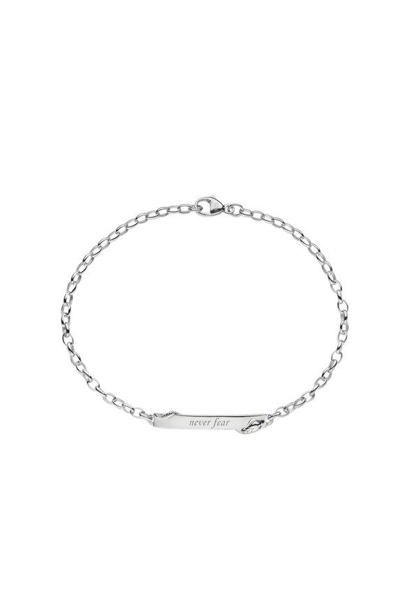 Monica Rich Kosann Sterling Silver Never Fear Snake Bracelet