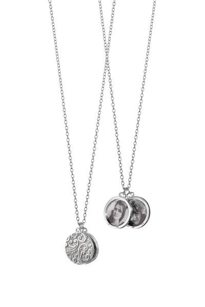 Monica Rich Kosann - Sterling Silver Round Image Locket