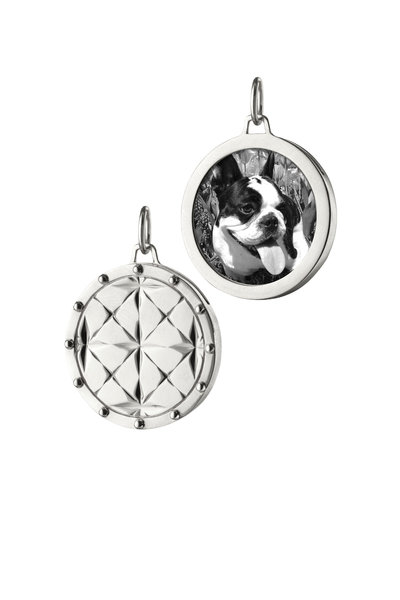Monica Rich Kosann - Sterling Silver Mosaic Half Locket