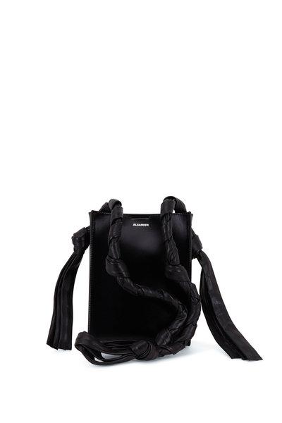 Jil Sander - Tangle Black Leather Rectangle Small Bag