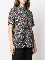 R13 - Tony Multistar Button Down Short Sleeve Shirt