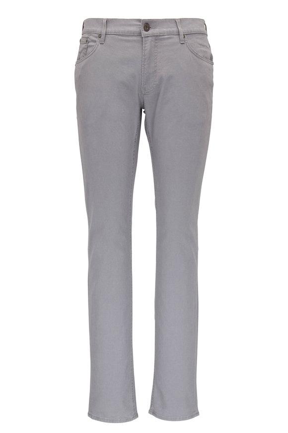Brax Platinum Gray Five Pocket Jean
