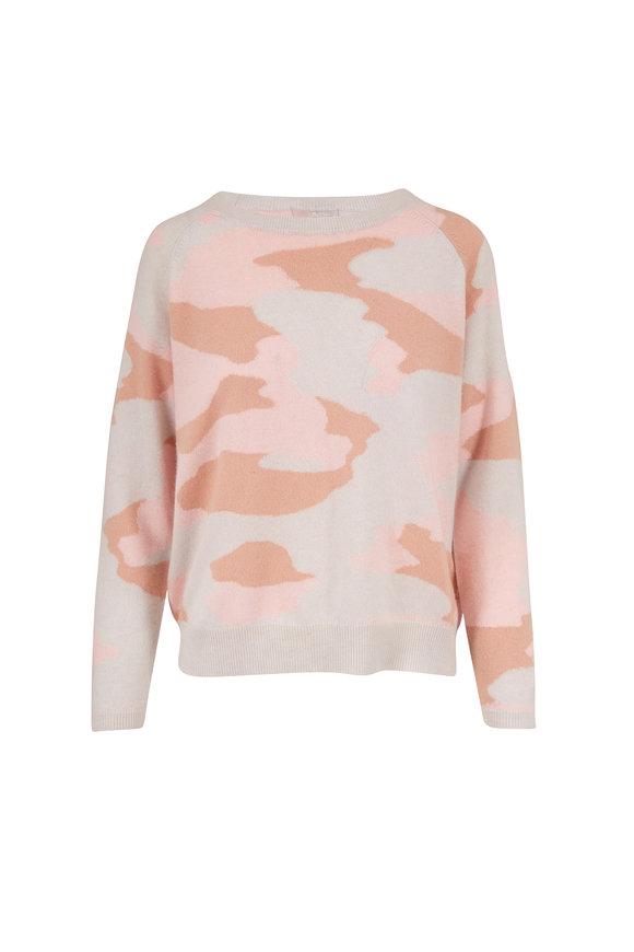 Jumper 1234 Rose Quartz Camo Cashmere Sweater
