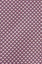 Ermenegildo Zegna - Pink & White Geometric Silk Necktie