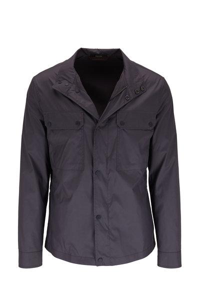 Ermenegildo Zegna - Gray Blue Lightweight Nylon Jacket
