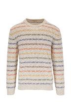 Altea - Creamy White Stripe Sweater