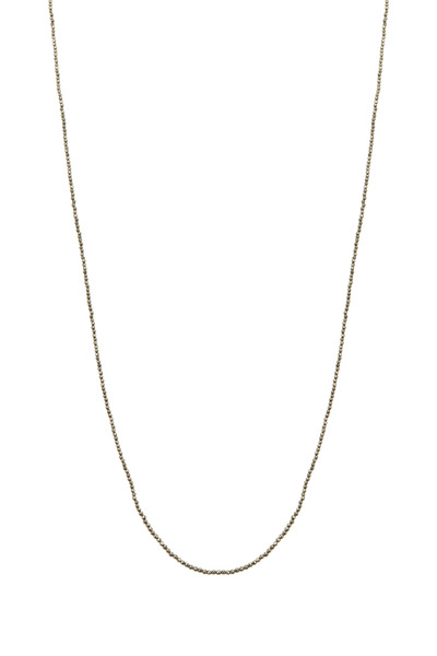 Sylva & Cie - Long Pyrite Necklace