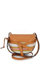 Loewe - Gate Multi Striped Snakeskin & Tan Leather Bag