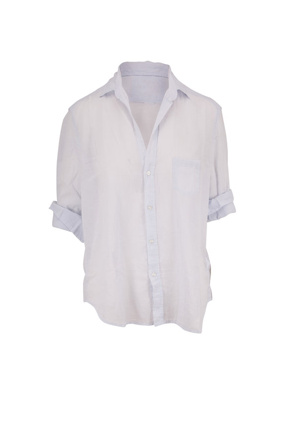 Frank & Eileen Eileen Sky Blue Cotton Button Down Shirt