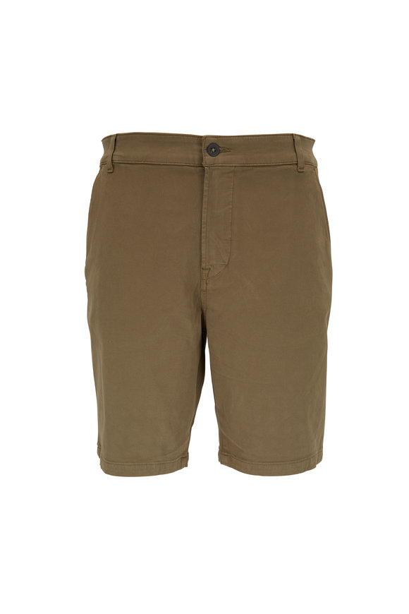 Hudson Clothing Olive Chino Short