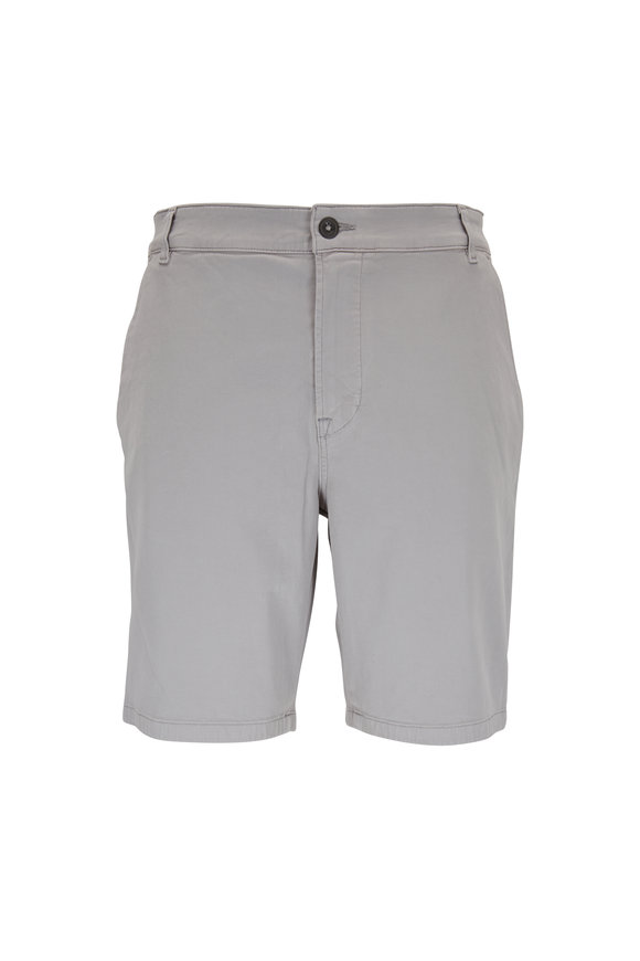 Hudson Clothing Stone Gray Chino Shorts