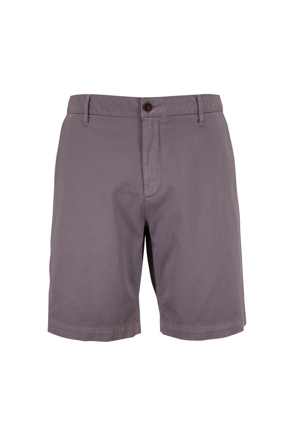 Faherty Brand Steel Stretch Chino Shorts