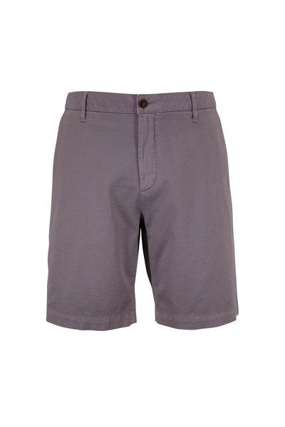Faherty Brand - Steel Stretch Chino Shorts