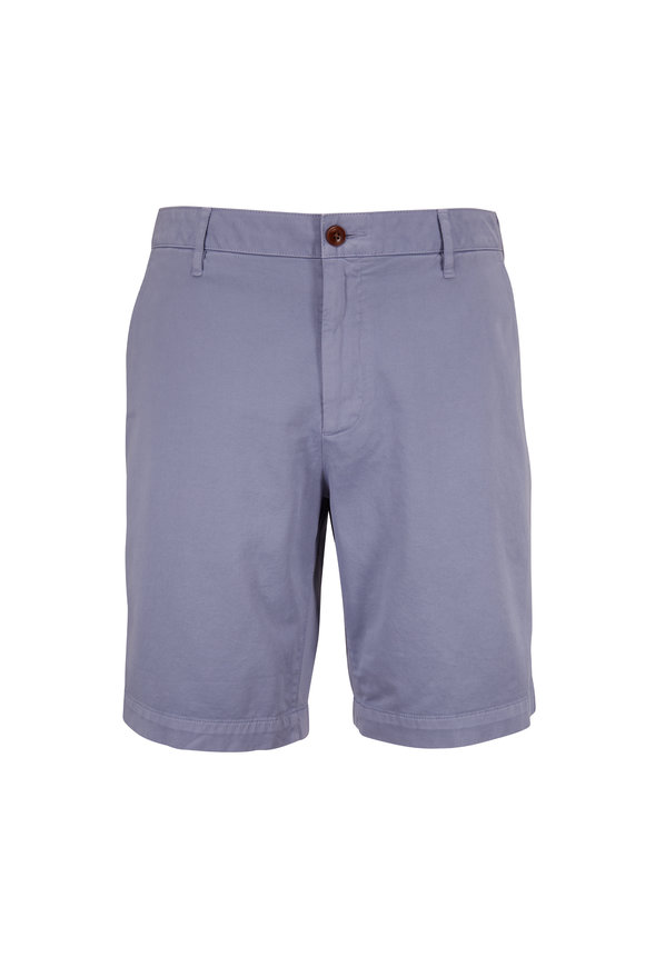 Faherty Brand Skip Blue Stretch Chino Shorts