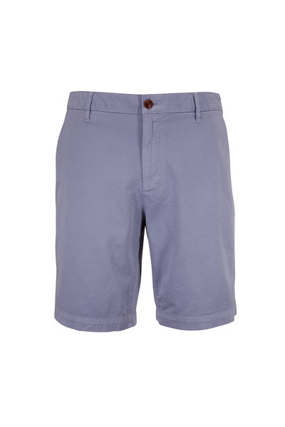 Faherty Brand - Skip Blue Stretch Chino Shorts