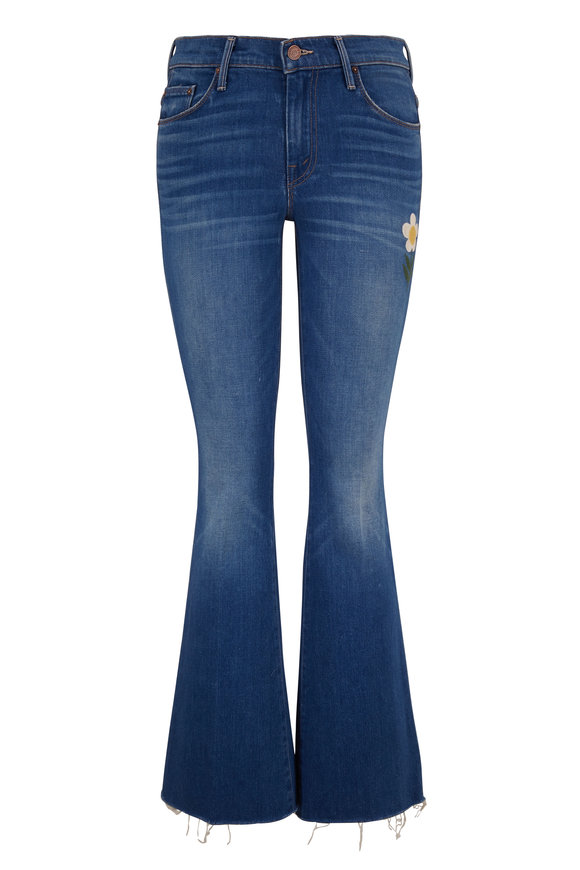 Mother Denim The Weekender Gold Rush Fray Jean