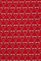 Salvatore Ferragamo - Red Golf Club Silk Necktie