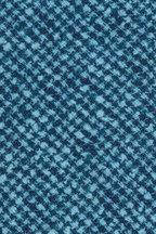 Kiton - Teal & Navy Blue Check Silk Necktie