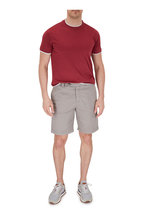 Brunello Cucinelli - Stone Grey Bermuda Shorts