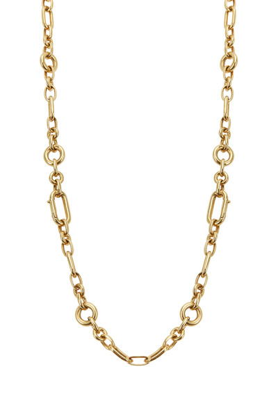 Fred Leighton - Yellow Gold Oval Link Chain Necklace