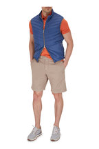 Brunello Cucinelli - Orange Cotton Slim Fit Polo