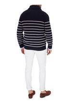 Brunello Cucinelli - Light Brown Linen Quilted Button Front Vest