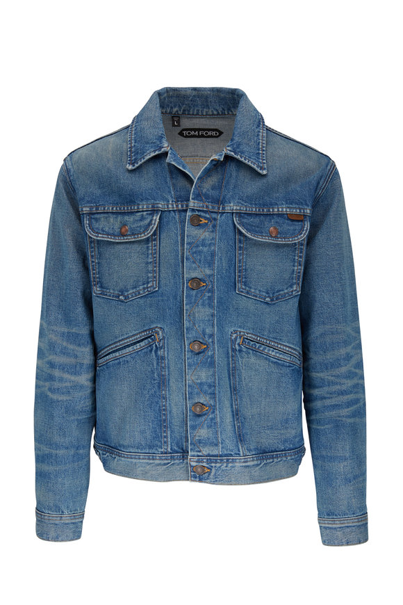 Tom Ford Icon Summer Blue Denim Jacket