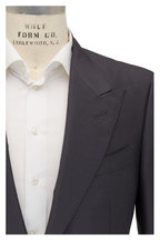 Tom Ford - Slate Gray Mohair & Silk Peak Lapel Suit